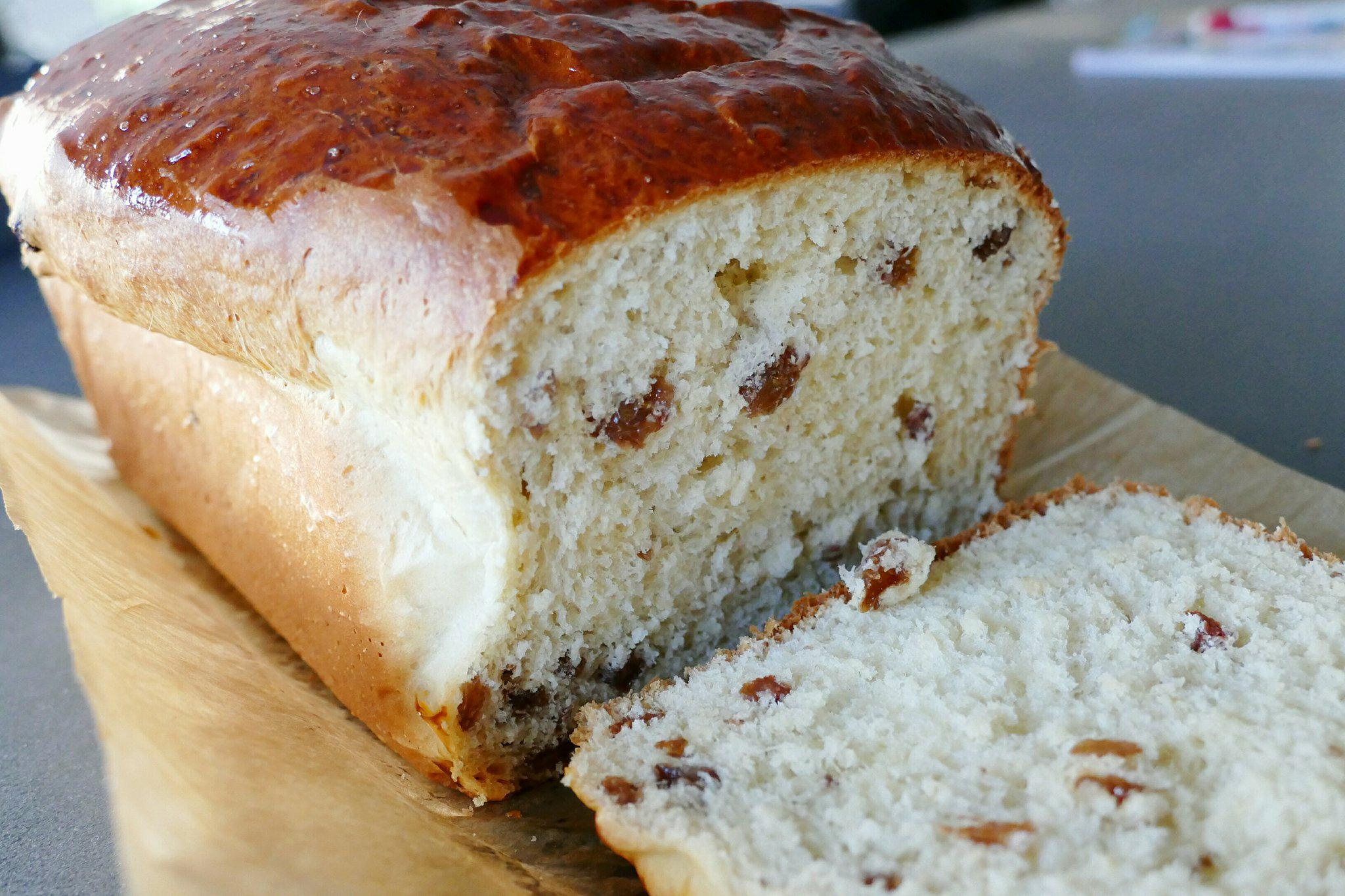 Rozijnenbrood (Thermomix)